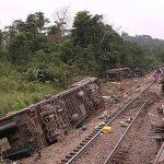 कंगोमा रेल दुर्घटना हुँदा ५० भन्दा धेरैको मृत्यु