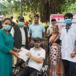 सामाजिक सेवा दिवसमा रक्तदान कार्यक्रम